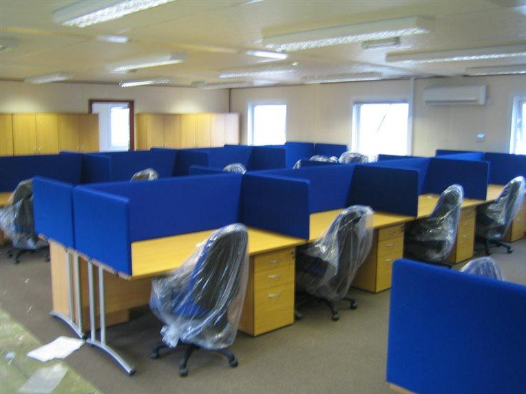 London Beckton Office Furniture Installation - CK Office Furniture