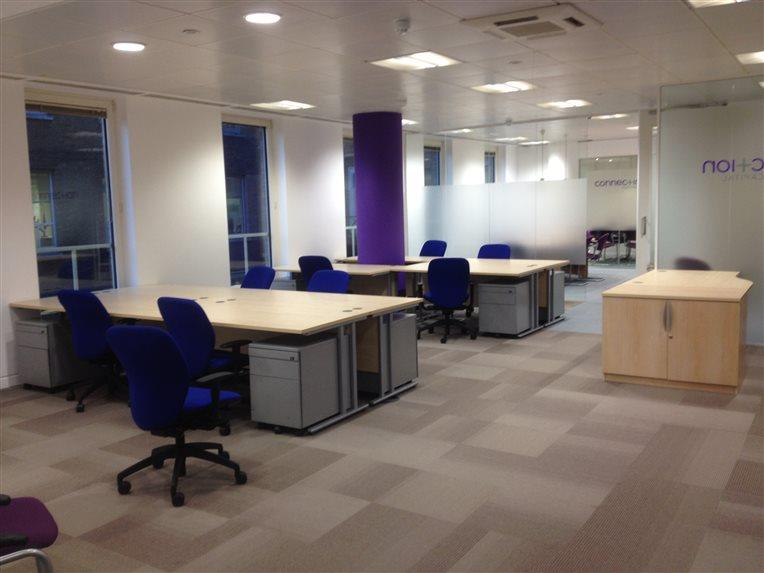 Mixture Of New & Used Furniture Installation - CK Office Furniture