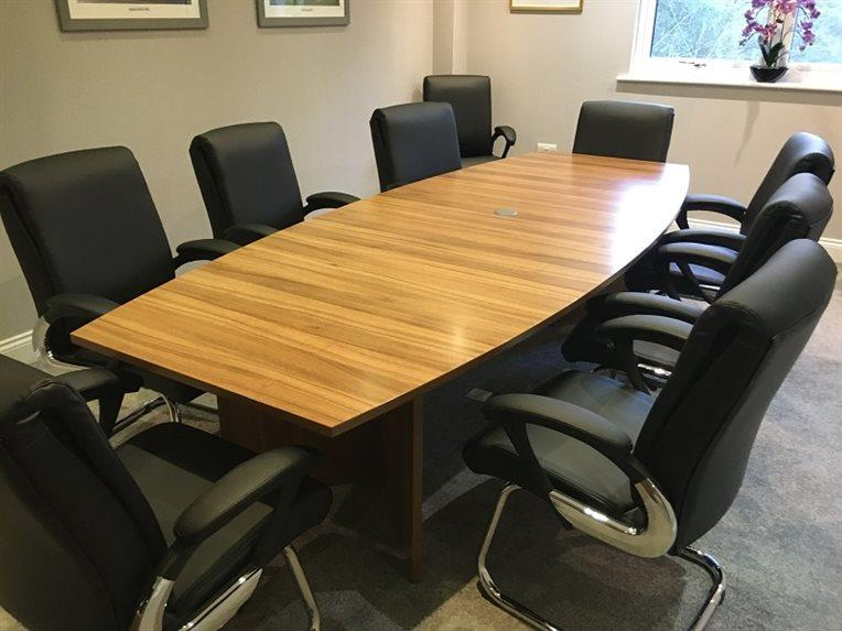 Tonbridge Executive Boardroom - CK Office Furniture