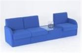 Used Modular Soft Seating