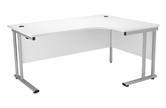 Start Silver Radial Desk