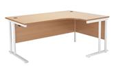 Start White Radial Desks