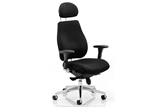 Chiro Plus Ultimate Chair - Black Fabric