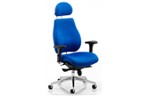 Chiro Plus Ultimate Chair - Blue Fabric