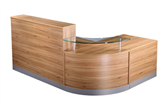 CK Reception Desk - American Black Walnut