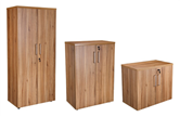 CK Executive Stationery Cupboards - American Black Walnut