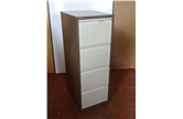 Used Bisley Executive 4 Drawer Filing Cabinet In Coffee Cream CKU1488