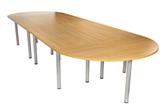 CK 1600 Diameter D-End Table