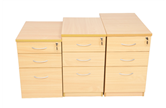 CK Wooden Pedestal Drawer Units