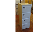Used Triumph Trilogy 4 Drawer Filing Cabinet In Light Grey CKU1632