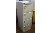 Used Silverline Exec 4 Drawer in Light Grey CKU1681