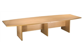 CK 4m Boat-Shaped Boardroom Table (Various Colours)
