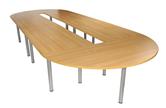CK 1800 Diameter D-End Table