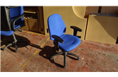Used Medium Back Operator Chairs with Adjustable Arms CKU1822