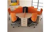 Call Centre Desks With Pedestals