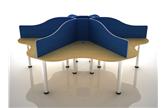 Call Centre Desks Without Pedestals