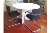 Second Hand 1200 White Round Table CKU1968