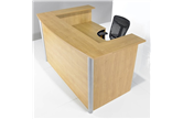 Hawk J-Shape Reception Counter