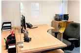 Deskshield Freestanding Acrylic Desk Screens