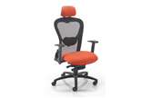 Strata High Back Executive Mesh Chair - Upholstered