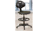 Polyurethane Lab Draughtsman Chair