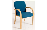 HATTON Woodframe Reception Chair