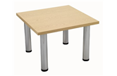 Light Oak Square Coffee Table