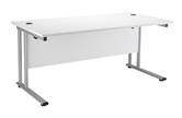 Start Silver Rectangular Desks
