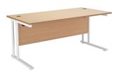Start White Rectangular Desks