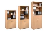 Metro Combination Bookcase Cupboards