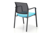 Chat Mesh Stacking Chair