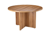 CK Executive 1200 Diameter Round Table - American Black Walnut