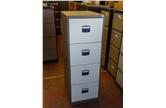 Used Midi 4 Drawer Filing Cabinet In Coffee Cream CKU1244