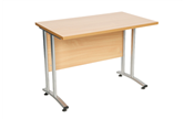 CK 600mm Deep Straight Desks With Cantilever Legs