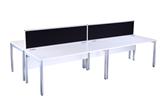 CK White Bench Style Desks