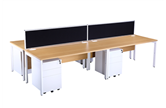 CK Oak Bench Style Desks