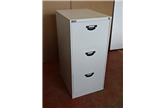 Used Triumph Midi 3 Drawer Filing Cabinet In Light Grey CKU1361