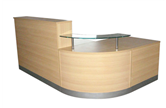 CK Reception Desk - Beech