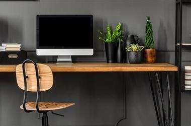 Creating a Budget Home Office in a Tiny City Flat