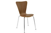 Picasso Walnut Bistro Chair