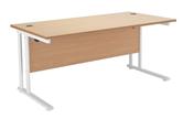 Start White Rectangular Desks