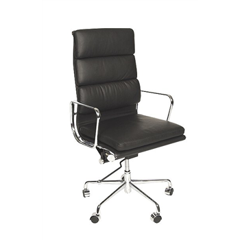 CK High Back Eames Style Soft Pad Chair