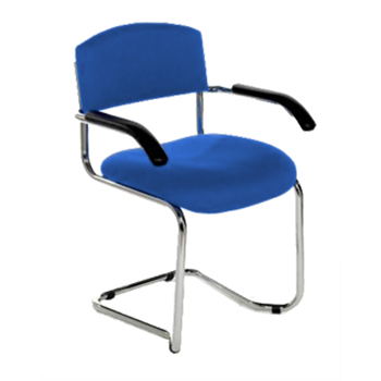 CSA Chrome Cantilever Stacking Armchair