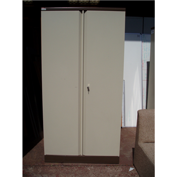 Second Hand Bisley 6ft Stationery Cupboard Coffee Cream Used Office Storage Furniture Ck Office Furniture
