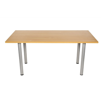 CK 1600 Rectangular Meeting Table - Beech