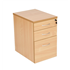 CK Desk-High Pedestal 600mm Deep - Beech