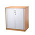 CK 1200 High Tambour Cupboard - Beech