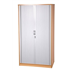 CK 2m High Tambour Cupboard - Beech