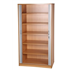 CK 2m High Tambour Cupboard With Doors Open - Beech