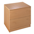 Metro Deluxe Wooden 2-Drawer Side Filing Cabinet